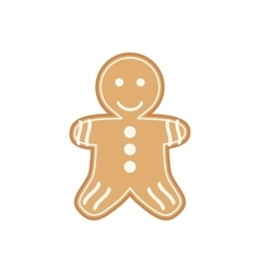 Yummy appetizing cookies for Santa Claus vector image vector image