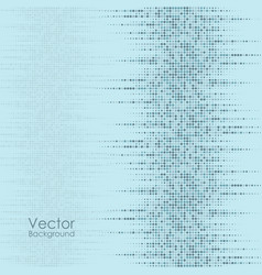 Abstract background with blue dots vector