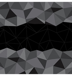 Black Mosaic Background Creative Business Design vector
