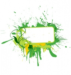 blot background vector image vector image