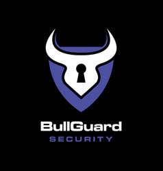 bull guard logo vector image