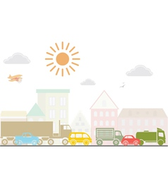 City lanscape vector