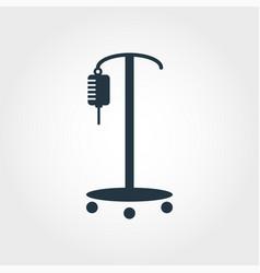 Drop counter icon line style icon design drop vector