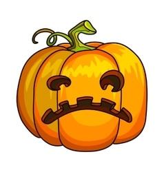 Holiday Halloween Pumpkin Jack Lantern vector