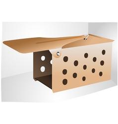 metal mousetrap vector image