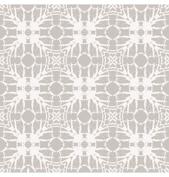 Simple elegant lace pattern with white shapes vector