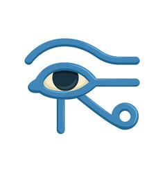 eye of horus egypt deity eye of ra antique vector image vector image