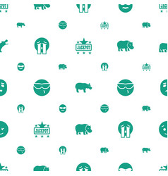 Comic icons pattern seamless white background vector