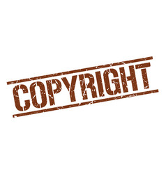 Copyright stamp vector