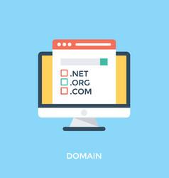Domain vector