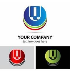 Letter Q logo icon design template elements vector