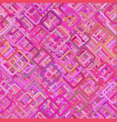 Seamless abstract geometric square pattern vector