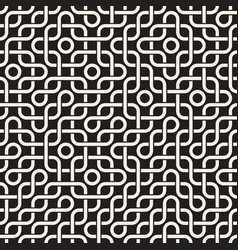 seamless geometric pattern simple abstract lines vector image