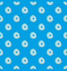 Sign incomplete download pattern seamless blue vector