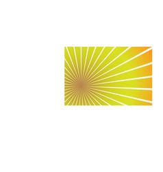 sunburst background eps10 vector image