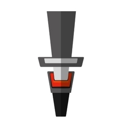 cartoon seat belt drive safe shadow vector image