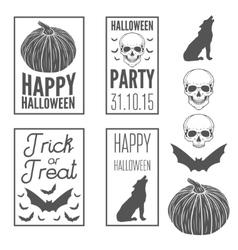 Set of vintage templates label badge emblem or vector image