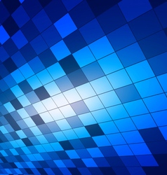Abstract Squares Blue background vector image