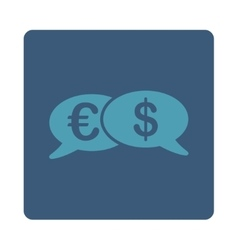 Banking Transactions Icon from Commerce Buttons vector image
