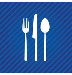 blue menu vector image