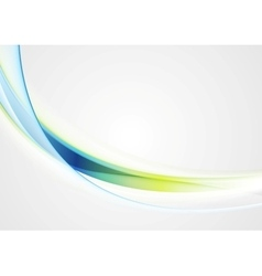 Bright shiny waves image background vector