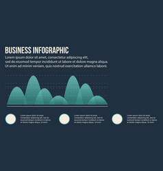 Business infographic style design collection vector