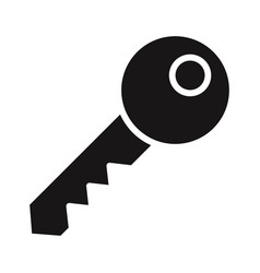 key icon vector image