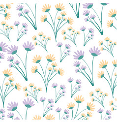 White background with colorful pattern of branches vector