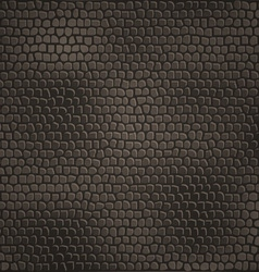 leather pattern background vector image vector image