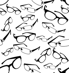 Seamless Spectacle Pattern vector image vector image