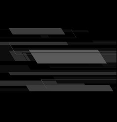 Abstract grey technology geometric speed black vector