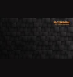 Conceptual 3d square blocks technological dark vector