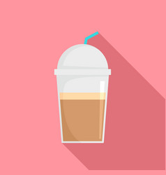 frappe chocolate icon flat style vector image