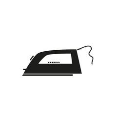 iron electronic black icon vector image