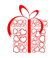 Love present box vector