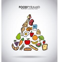 Nutritional food vector