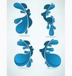water girls vector image vector image