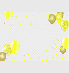 2019 happy new year background stars colorful vector image