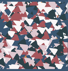 bright geometric background made triangles vector image