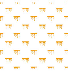 Flowing honey pattern vector