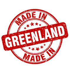 Made in greenland vector