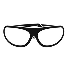 protect glasses icon simple style vector image