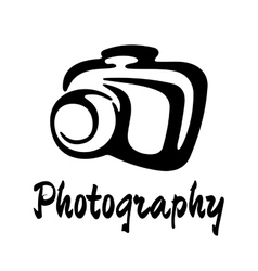 Sketch photography icon vector image vector image