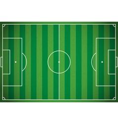 Soccer Football Field vector image