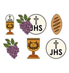 Catholic design vector image vector image