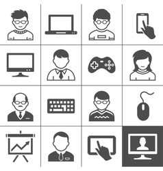 End-user devices vector image vector image