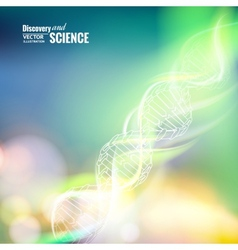 Science concept image vector image