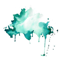 abstract watercolor stain splatter texture vector image