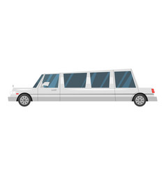 city transport limousine vector image