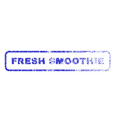 Fresh smoothie rubber stamp vector